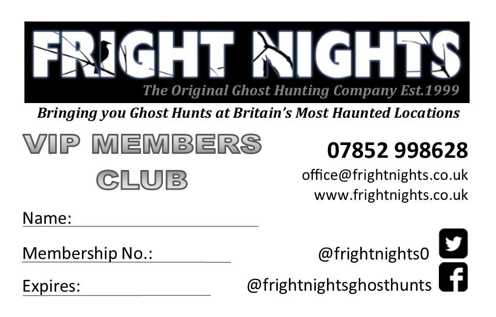 FNHO - VIP Membership Card